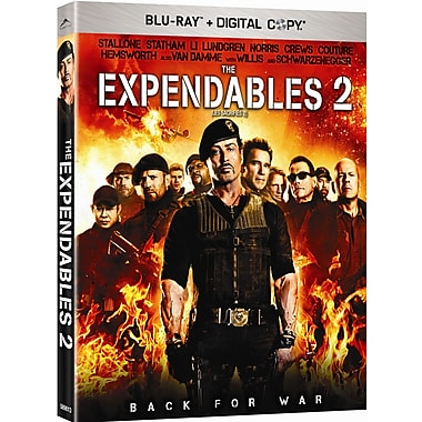 The Expendables 2 (BRD + Digital Copy)