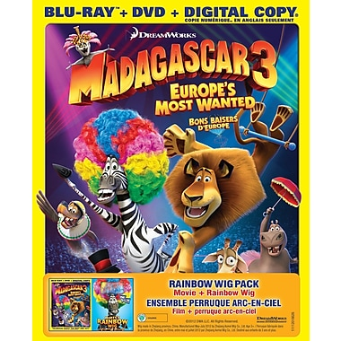 Madagascar 3: Europe'S Most Wanted (BRD + DVD + Digital Copy)