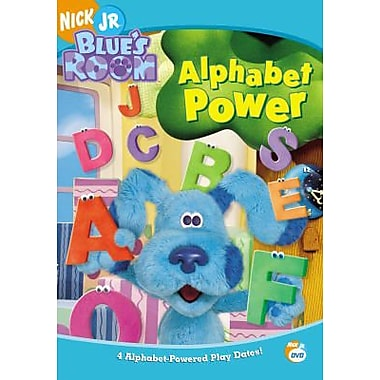 Blue'S Clues: Blue'S Room: Alphabet Power (DVD)