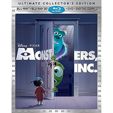 Monsters Inc. 3D (3D BRD + BRD + DVD + Digital Copy)
