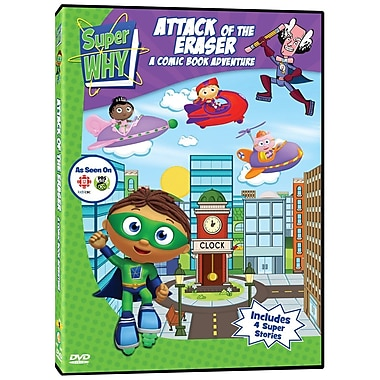 Super Why: Attack Of The Eraser: A Comic Book Adventure (DVD)