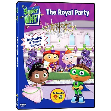 Super Why: The Royal Party (DVD)