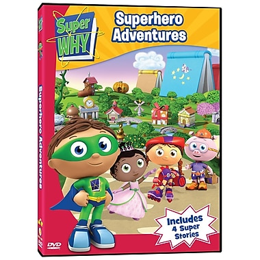 Super Why: Superhero Adventures (DVD)