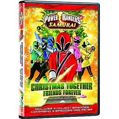 Power Rangers Samurai: Christmas Together, Friends Forever (DVD)
