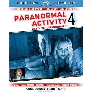 Paranormal Activity 4 (BRD + DVD + Digital Copy)