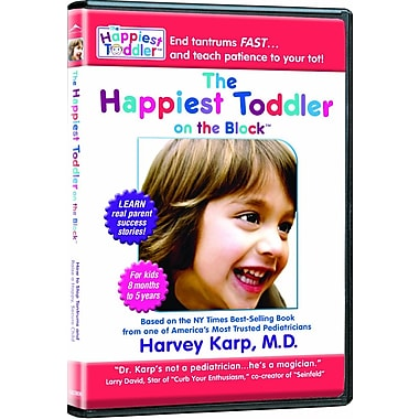 The Happiest Toddler On The Block (DVD)