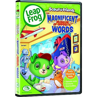Leapfrog: Magnificent Museum Of Opposite Words (DVD)
