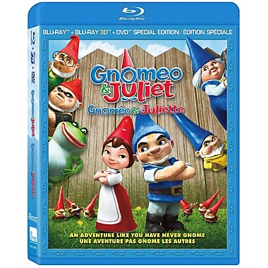 Gnomeo And Juliet 3D (DISQUE BLU-RAY)