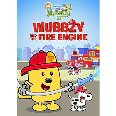 Wow! Wow! Wubbzy! Wubbzy & The Fire Engine (DVD)
