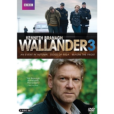 Wallander 3: An Event In Autumn, The Dogs Of Riga, Before The Frost (DVD)