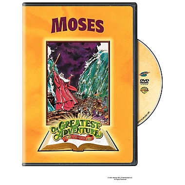 Greatest Adventures Of The Bible: Moses (DVD)