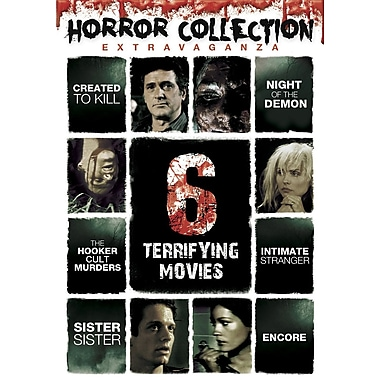 Horror Collection Extravaganza - 6 Terrifying Movies (DVD)