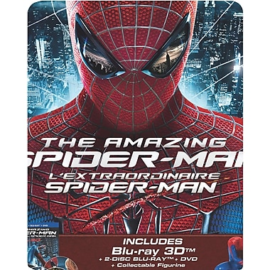 The Amazing Spider-Man 3D (3D BRD + BRD + DVD) 2013