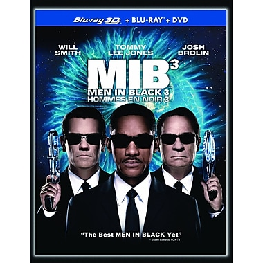 Men In Black 3 3D (3D BRD + BRD + DVD)