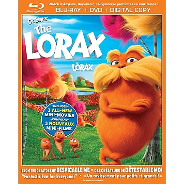 Dr. Seuss The Lorax (BRD + DVD + Digital Copy)