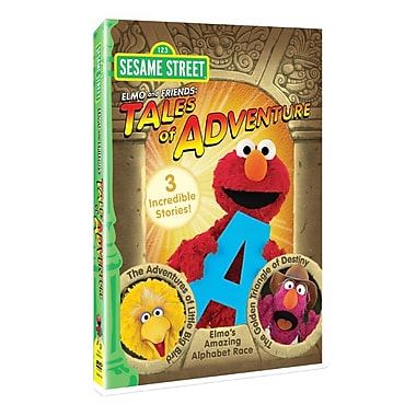 Elmo And Friends: Tales Of Adventure (DVD)