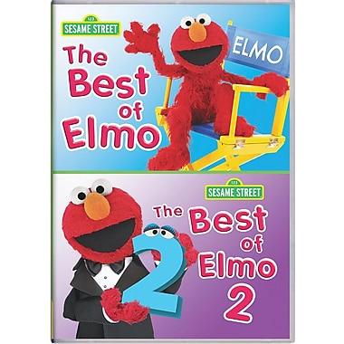 Sesame Street: Best Of Elmo: Volume 1 And Volume 2 (DVD)