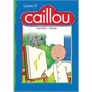 Caillou The Artist (DVD)
