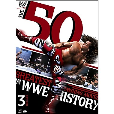 WWE 2012 - 50 Greatest Finishing Moves In WWE History (DVD)