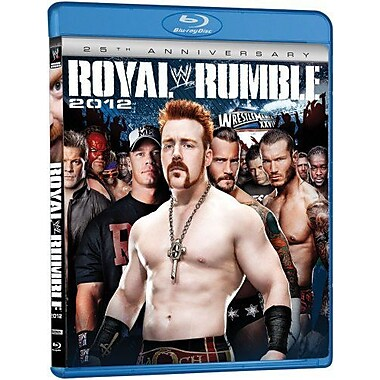 WWE 2012: Royal Rumble 2012 St. Louis, Mi: January 29, 2012 Ppv (DISQUE BLU-RAY)