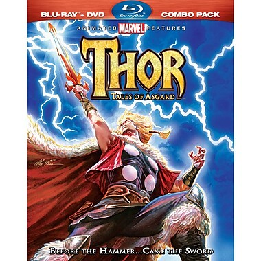 Thor: Tales Of Asgard Combo (DISQUE BLU-RAY)