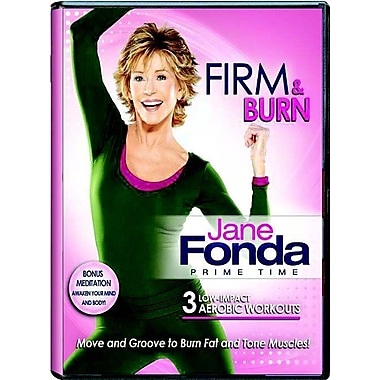 Jane Fonda Prime Time: Firm And Burn Low Impact Cardio (DVD)