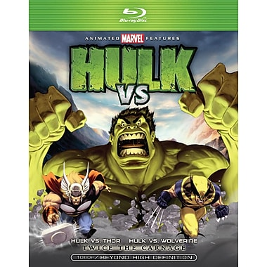 Hulk Vs Thor Hulk Vs Wolverine (DISQUE BLU-RAY)