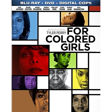 Tyler Perry's For Colored Girls (DISQUE BLU-RAY)