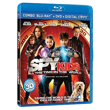 Spy Kids: All The Time In The World Combo 3D (3D BRD + BRD + DVD + Digital Copy)