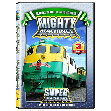 Mighty Machines: Planes, Trains, And Automobiles (DVD)