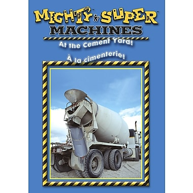 Mighty Machines: At The Cement Yard! (DVD)