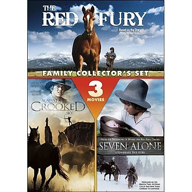 Family Adventure: The Red Fury Against A Crooked Sky Seven Alone (DVD)