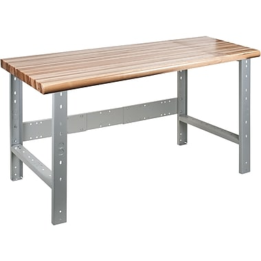 KLETON Workbench, Laminated Wood Top, Open Style
