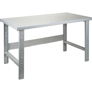 KLETON Workbench, Wood Filled Steel Top, Open Style
