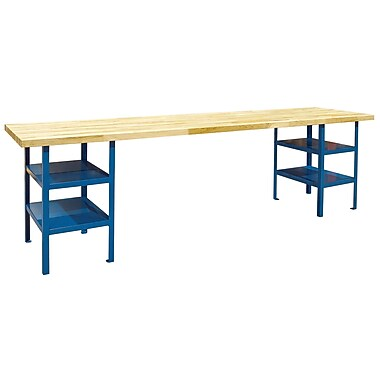 KLETON Extra Heavy-Duty Pedestal Workbenches