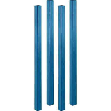 Klenton Upright Posts for Stacking Racks, 4/Pack