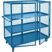 """KLETON Security Trucks, 3 Shelves, 5"""" Non-Marking Rubber Caster"""