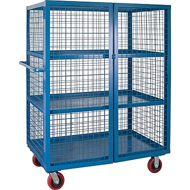 KLETON Security Trucks, 3 Shelves, 6