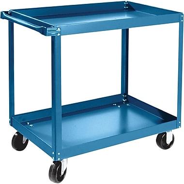 KLETON Knocked-Down Shelf Carts, 2 Shelves, 5