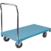 "KLETON Steel Deck Platform Trucks, 6"" High Temp Nylon Casters"