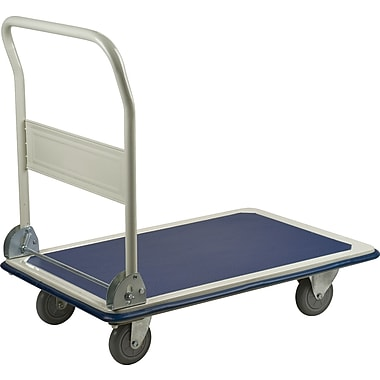 Kleton Folding Handle Platform Trucks, 400 lb. capacity