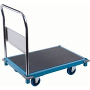"KLETON Institutional Platform Trucks, 5"" Non-Marking Rubber Caster"