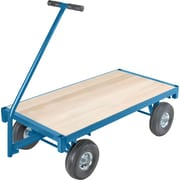 KLETON Ergonomic Platform Wagon Trucks, Wood Deck