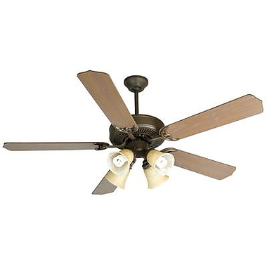 Craftmade CD Unipack 5 Blades 204 Fan; Aged Bronze