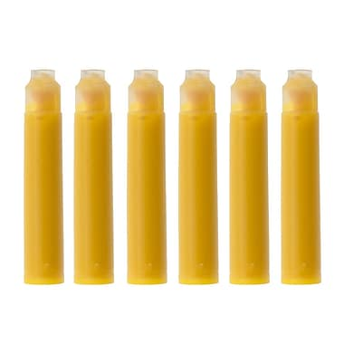 Monteverde® International Size Cartridge For Most Fountain Pens, 6/Pack, Yellow