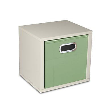 Way Basics zBoard Eco Friendly Modular Storage Cubes, White