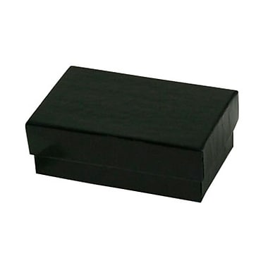 Shamrock 2 1/2in. x 1 1/2in. x 7/8in. Jewelry Box, Gloss Black