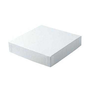 Shamrock 6in. x 6in. Hi Wall Lids, White