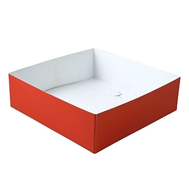 Shamrock 10in. x 10in. x 3in. Hi Wall Box, Red
