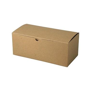 Boîte-cadeau nº 106, Kraft, 10 x 10 x 6 (po)